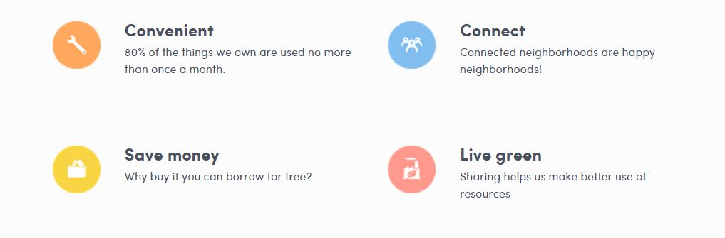 Peerby: Borrow the things you need from your neighbors | UBIQUE