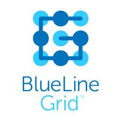BlueLine Grid Logo