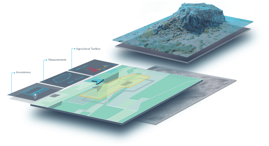 DroneDeploy Making Aerial Data Collection Driven By Drones - Aerial mapping software