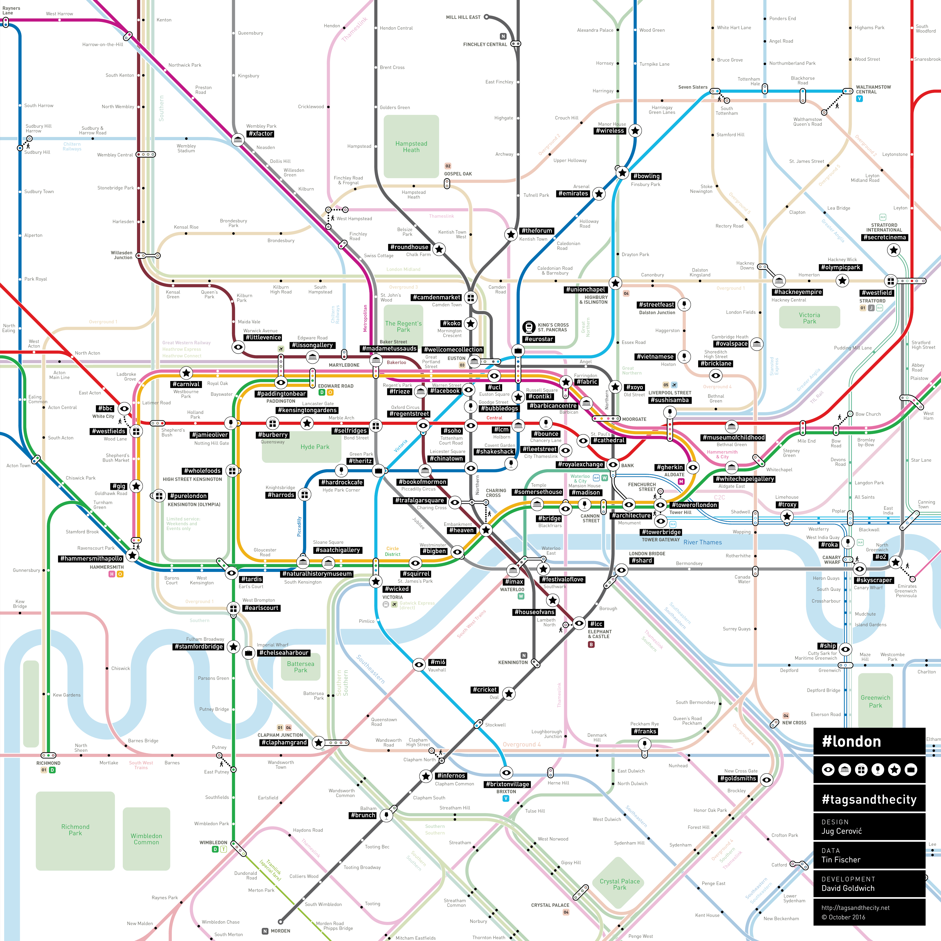 to apply this information to a geographical grid that everybody has in his or her mind when moving through a city this is of course the subway map